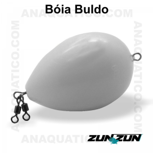 ZUN ZUN BÓIA BULDO BRANCO 60 GR