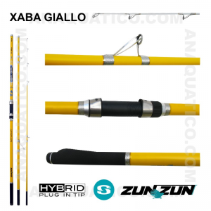 CANA ZUN ZUN XABA GIALLO 3 SEC. 4,20MT - 100/200GR - HYBRID