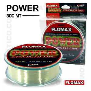 LINHA FLOMAX POWER NYLON 300Mt