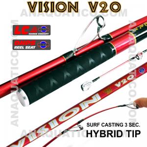 NBS VISION V20 SURF 3SEC. 4.2MT - 90/200GR - HÍBRIDA