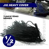 COYOTE JIG HEAVY COVER 1/2 OZ COR BLACK