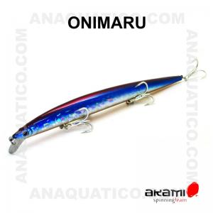 AMOSTRA ONIMARU 21CM / 35.5GR AFUNDANTE LENTO COR  105