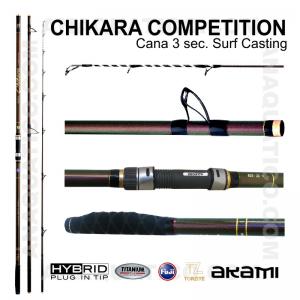 CANA AKAMI CHIKARA COMPETITION 3 SEC. 4,20MT - 100/250GR - HYBRID