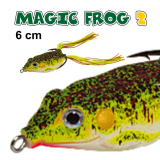 JAXON MAGIC FROG 2  - 6 CM  / 13GR TOP WATER COR D