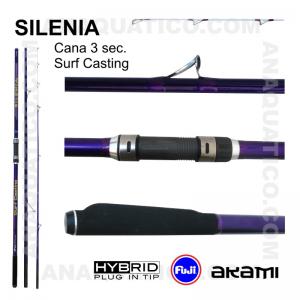 CANA AKAMI SILENIA 3 SEC. 4,20MT - 100/200GR - HYBRID
