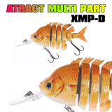 JAXON ATRACT MULTI PART XMP-D 7.5CM / 14GR FLOAT. COR B