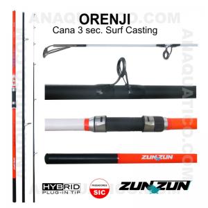 CANA ZUN ZUN ORENJI 3 SEC. 4,20MT - 100/200GR -  HYBRID