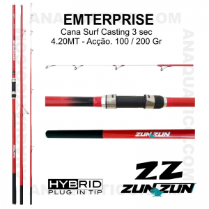 CANA ZUN ZUN ENTERPRISE 3 SEC. 4,20MT - 100/200GR - HYBRID