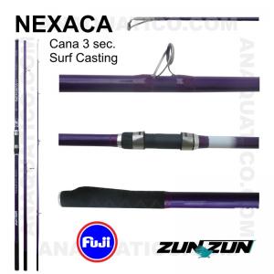CANA ZUN ZUN NEXACA 3 SEC. 4,20MT - 100/200GR - HOLLOW