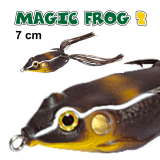JAXON MAGIC FROG 2  - 7 CM  / 15GR TOP WATER COR A