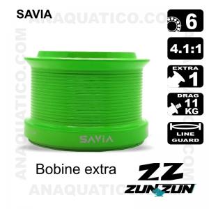 CARRETO ZUN ZUN SAVIA BB 6 / Drag 11Kg / R 4.1:1