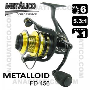 ROBINSON METALLOID FD 456 BB 5+1 / Drag 7Kg / R 5.3:1
