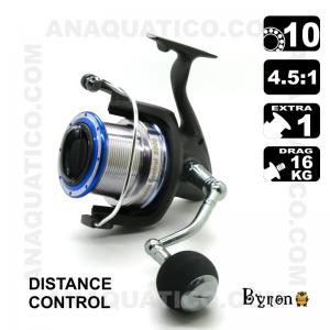 CARRETO DISTANCE CONTROL BYRON 8000 BB 10 / Drag 16Kg / R 4.5:1
