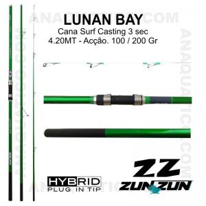 CANA ZUN ZUN LUNAN BAY 3 SEC. 4,20MT - 100/200GR - HOLLOW