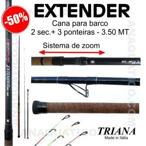 CANA TRIANA BOAT EXTENDER 3.00MT/ 350 - 30/100 GR