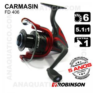 CARRETO ROBINSON CARMASIN FD  BB 5+1 / Drag 7Kg / R 5.1:1