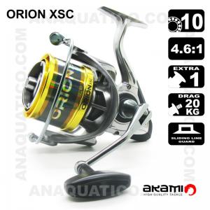 CARRETO AKAMI ORION XSC BB 10 / Drag 20Kg / R 4.6:1