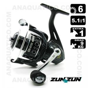CARRETO ZUN ZUN CB-SPIN BB 6 / Drag 9Kg / R 5.1:1