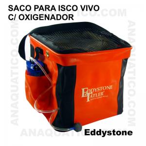 SACO EDDYSTONE PARA ISCA VIVA COM OXIGENADOR 25 X 23 X 25 CM