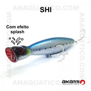 AMOSTRA AKAMI SHI 13CM / 36GR TOP DECO BLUE
