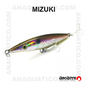 AMOSTRA AKAMI MIZUKI 13CM / 28GR TOP WATER SCAT FISH