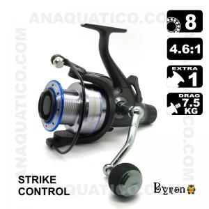 CARRETO STRIKE CONTROL BYRON 6000 BB 8 / Drag 7.5Kg / R 4.6:1