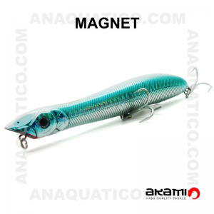 AMOSTRA AKAMI  MAGNET 135 13.5CM / 25GR  TOP WATER MA05