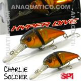 SPI CHARLIE SOLDIER FLOAT. 7CM  / 15GR METALLIC AYU