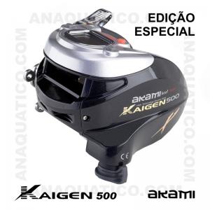 CARRETO ELÉTRICO AKAMI KAIGEN 500 X EDIÇÃO ESPECIAL BB 2 / POTENCIA 17Kg