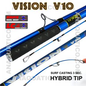 NBS VISION V10 SURF 3SEC. 4.2MT - MAX. 200GR - HÍBRIDA