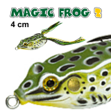 JAXON MAGIC FROG 2  -  4 CM  / 6GR TOP WATER COR C