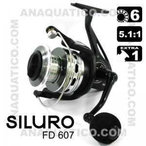 ROBINSON SILURO FD 607 BB 6+1 / Drag 11Kg / R 5.1:1
