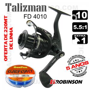 CARRETO ROBINSON TALIZMAN FD  BB 9+1 / Drag 7Kg / R 5.5:1