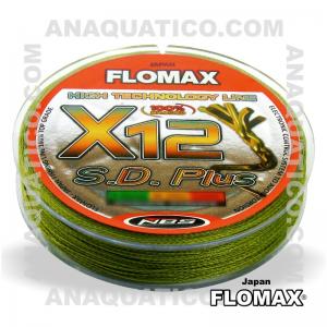 LINHA ENTRANÇADA FLOMAX X12 S. D. PLUS 150Mt