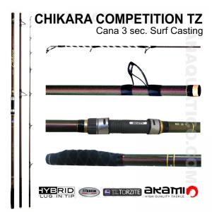 CANA AKAMI CHIKARA COMPETITION TZ 3 SEC. 4,50MT - 100/250GR - HYBRID