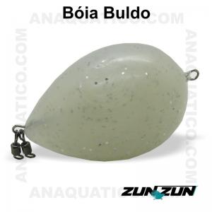 ZUN ZUN BÓIA BULDO BRANCA C/ GLITER  60 GR