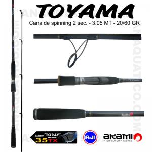 CANA AKAMI TOYAMA 3.05MT - 20/60GR