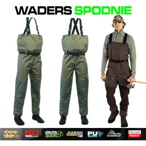 JAXON WADER SPODNIE XL