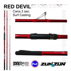 CANA ZUN ZUN RED DEVIL 3 SEC. 4,20MT - 100/200GR - HYBRID