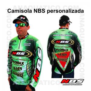 CAMISOLA NBS PERSONALIZADA COR VERDE - S