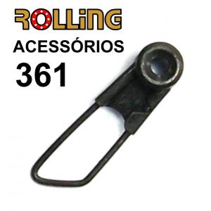 ROLLING CLIP DE CORRER 5 PCS.