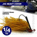 COYOTE JIG HEAVY COVER 1/4 OZ COR PUMPKIN