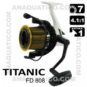 SEA FOX TITANIC FD BB 7+1 / Drag 14.5Kg / R 4.1:1