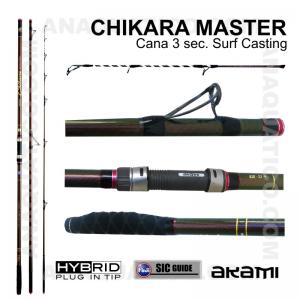 CANA AKAMI CHIKARA MASTER 3 SEC. 4,20MT - 100/250GR - HYBRID