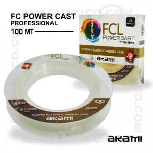 LINHA AKAMI FCL POWER CAST PROFESSIONAL 100 MT