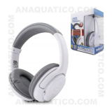 Auscultadores Bluetooth S/ Fios Stereo Brancos