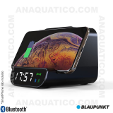 Relógio Despertador FM Bluetooth BAT Qi USB BLAUPUNKT