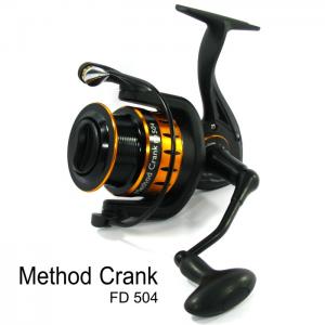 ROBINSON METHOD CRANK FD 504 BB 3+1 / Drag 8Kg / R 4.9:1