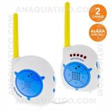 Intercomunicador Baby Phone S/ Fios 200m