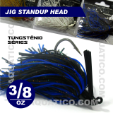 COYOTE JIG STANDUP 3/8 OZ COR BLACK